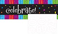 Creative Converting Milestone Celebrations Giant Party Banner with Stickers from Creative Converting