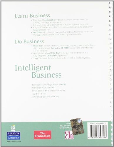 Intelligent Business Pre-Intermediate Teachers Book and Test Master CD-ROM Pack