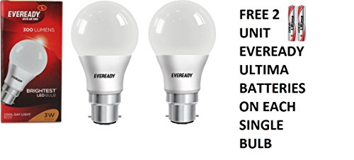 3W-Cool-Day-Light-300-Lumens-LED-Bulb-(Pack-of-2)