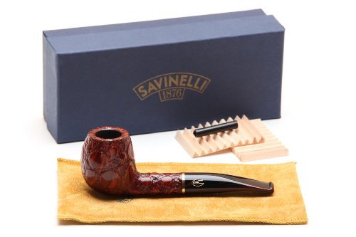 Savinelli Alligator Brown 173 Tobacco Pipe