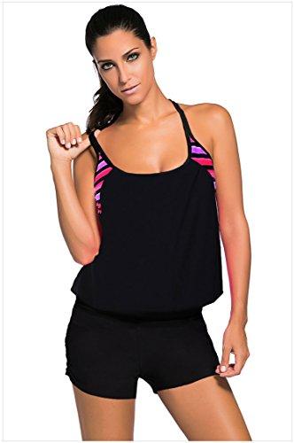 meinice-magliette-a-maniche-corte-donna-stripedblack-medium