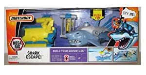 Mattel Matchbox Mega Rig Adventure Pack: Shark Escape