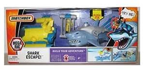 Mattel Matchbox Mega Rig Adventure Pack: Shark Escape