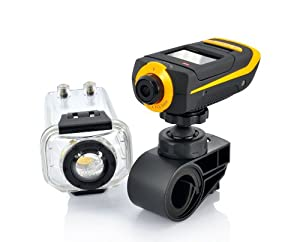 1080p Full HD Extreme Sports Action Camera Camcorder ProView HD with Waterproof Case, 4 different mount, G Sensor, HDMI AT90