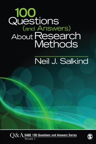 100 Questions (and Answers) About Research Methods (SAGE...