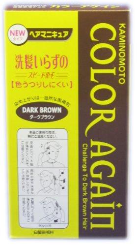 加美乃素 カラーアゲイン Dブラウン 80ml
