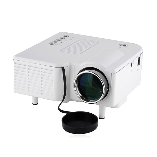 Projector multimedia led lcd portable projector compatible for Best portable projector for iphone