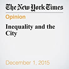 Inequality and the City (       UNABRIDGED) by Paul Krugman Narrated by Fleet Cooper
