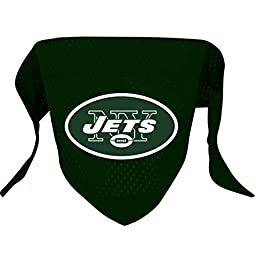 Hunter MFG New York Jets Mesh Dog Bandana, Small