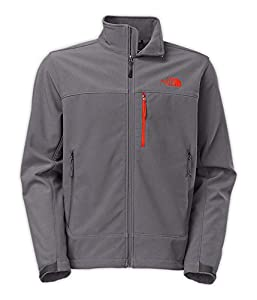 The North Face 611C757 Apex Bionic Jacket for Men, Vanadis Grey & Vanadis Grey - Extra Large from The North Face