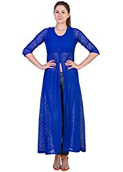 Ants Royal Blue Netted Tunic