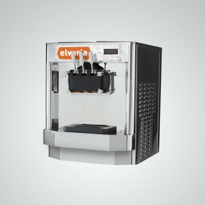 Elvaria 621CT Countertop Soft Serve Ice Cream / Frozen Yogurt Machine by Elvaria