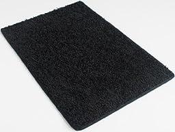 Burn Rubber Black - 4\'x6\' Custom Carpet Area Rug