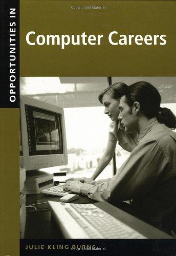 Opportunities in Computer Careers