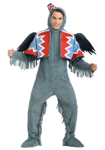 Rubies Mens Movie Characters Wizard Of Oz Winged Monkey Deluxe Costume
