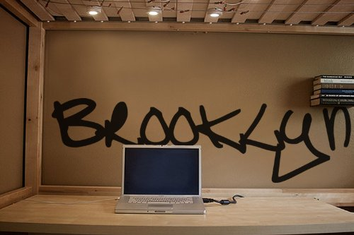 Brooklyn Graffiti Wall Decal