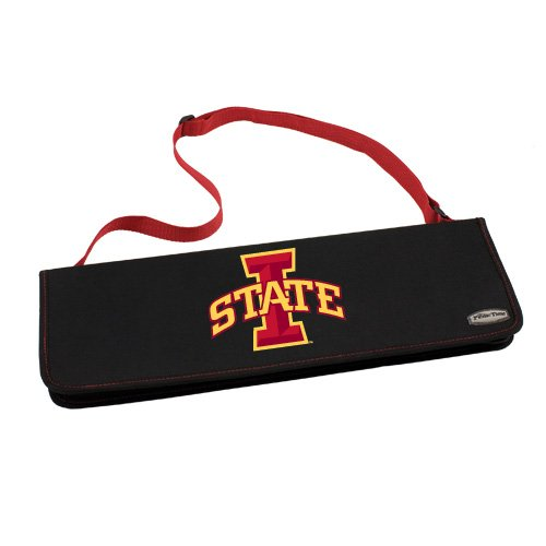 NCAA Iowa State Cyclones Metro 3-Piece BBQ Tool Set in Carry Case