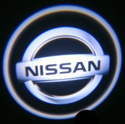 Nissan Ghost Door Logo Projector Shadow Puddle Laser Led Lights 7W (Qty 2)