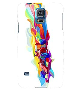 PRINTSHOPPII DESIGN OTHER COLOUR Back Case Cover for Samsung Galaxy S5 G900i::Samsung Galaxy S5 i9600::Samsung Galaxy S5 G900F
