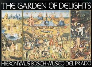 Art Poster Print Garden Of Earthly Delights Artist Hieronymus Bosch Poster
