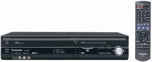 Panasonic DMR-EZ48VP-K 1080p Upconverting VHS VCR DVD Recorder with Built In Digital ATSC Tuner