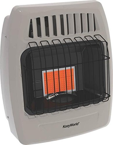 New Kozy World Kwn209 6k Btu Infrared Natural Gas Heater Wall Mount 7885858 (Wall Mount Gas Heater compare prices)