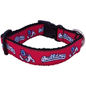 NCAA Fresno State Bulldogs Dog Collar, Small
