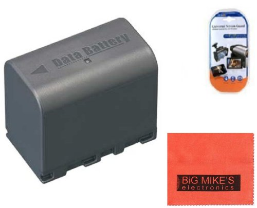 Big Mike'S Bn-Vf823 Battery For Jvc Everio Gs-Td1 Gz-Hd320 Gz-Hm1 Gz-Hm200 Gz-Hm400 Gz-Hmz1U Gz-Mg230 Gz-Mg255 Gz-Mg275 Gz-Mg330 Gz-Mg335 Gz-Mg340 Gz-Mg360 Gz-Mg365 Gz-Mg430 Gz-Mg435 Gz-Mg465 Gz-Mg555 Gz-Mg575 Gz-Mg630 Gz-Mg650 Gz-Mg670 Gz-Mg680 Gz-Mg730