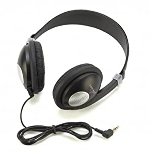 LIGHTWEIGHT STEREO HEADPHONES-IPADS-IPODS