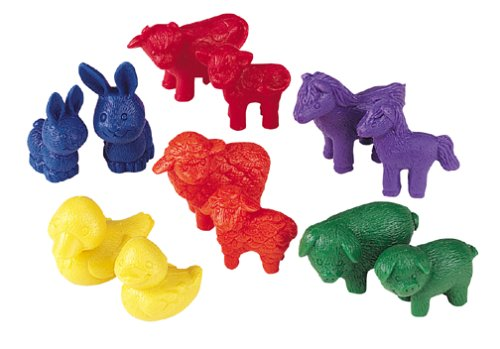 COUNTERS FRIENDLY FARM ANIMAL 72-PK - Buy COUNTERS FRIENDLY FARM ANIMAL 72-PK - Purchase COUNTERS FRIENDLY FARM ANIMAL 72-PK (Learning Resources, Toys & Games,Categories)