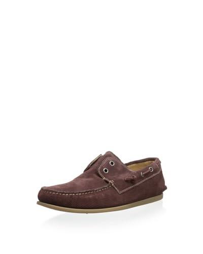 John Varvatos Men's Schooner Boat Shoe