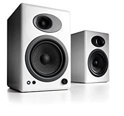 Audioengine A5+ Premium Powered Speaker Pair (White)
