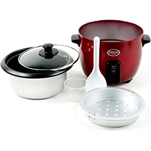 American Originals Electric Rice Cooker, 5-Cup Capacity