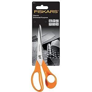 Fiskars Ciseaux  lames auto affutantes/inoxydables pour droitiers 21cm Classic