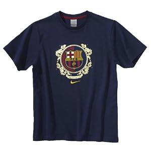 Nike Barcelona T-Shirt, Größe M, Marine