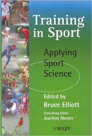 Training in Sport: Applying Sports Science
