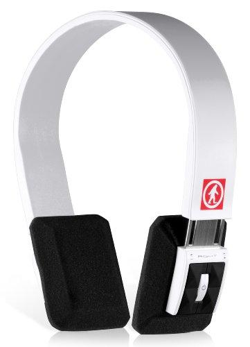 Outdoor Tech Ot1102 Dj Slims Wireless Bluetooth Headphones (White)