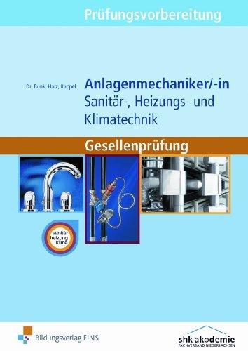 Prüfungsvorbereitung Anlagenmechaniker/-in