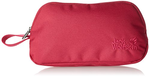 Jack Wolfskin-Beauty case prettines Sary, Unisex, Kulturbeutel Prettinessesary, Rosso Azalea, 23 x 11.5 x 3 cm, 1 Liter