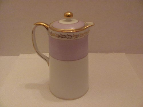 Antique Handpainted NIPPON Small Pitcher / Creamer with Lid (approx. 5 3/4