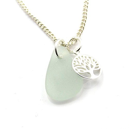 sea-glass-necklace-sterling-silver-tree-of-life-charm-necklace-c145