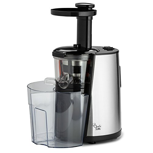 House Of Chefs Slow Juicer Test : Chef s Star Slow Masticating Juicer - Stainless Steel / Black Home Garden Kitchen Dining Kitchen ...