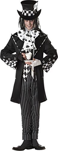 Morris Costumes Dark Mad Hatter Men Xl 44-46