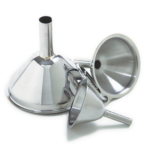Norpro Norpro 3-Piece Stainless Steel Funnel Set