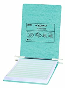 ACCO Data Processing Binder, 6-Inch Cap, 8-1/2 x 11 Inches, Blue (ACC54052)