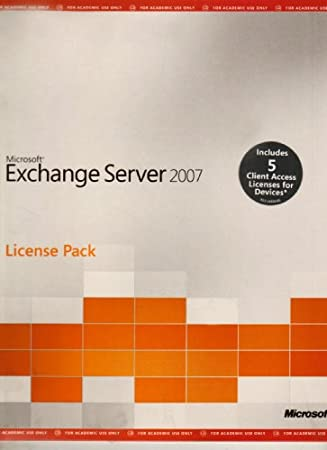 Microsoft Exchange Standard CAL 2007 English MLP 5 AE Device CAL