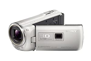 Sony HDR-PJ380/W High Definition Handycam Camcorder with 3.0-Inch LCD (White)
