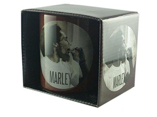Bob Marley-Tazza in ceramica-Circle-confezionato in una confezione regalo.