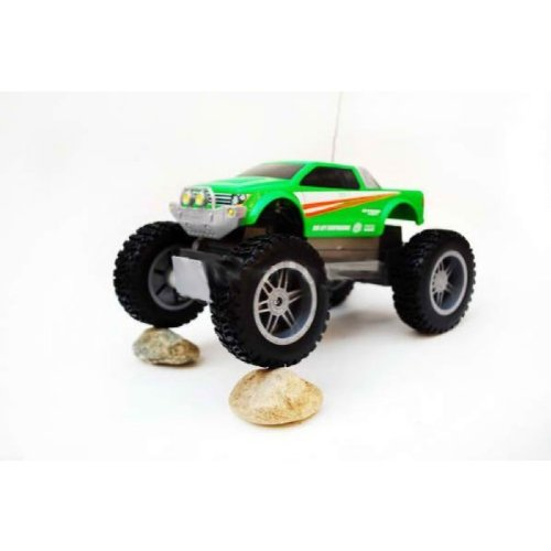 Maisto Tech R/C Radio Control Rock Crawler Jr. Green