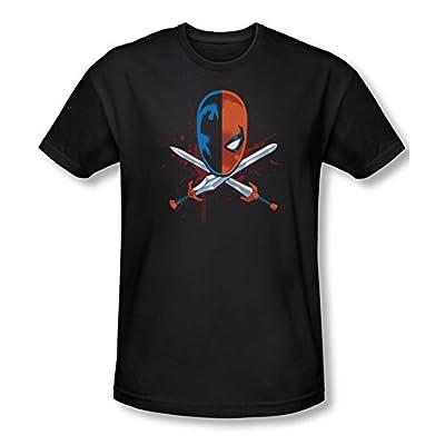 Deathstroke Crossed Swords Slim Fit T-Shirt